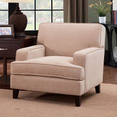 Furniture Of America Chair Cm6036Iv-Ch Francis Collection For $230