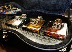 Fresh Deleon tequila custom guitar case.