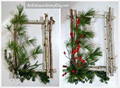 How to Create a Birch Wreath  ~ a tutorial ::  AnExtraordinaryDay.net