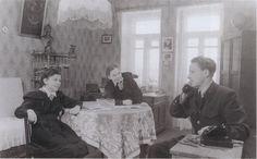 1953. Установка телефона в московской квартире