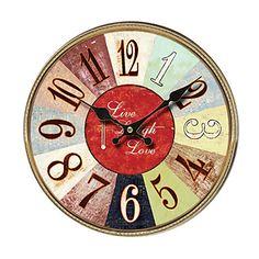 Mediterranean Wall Clock - USD $ 34.99