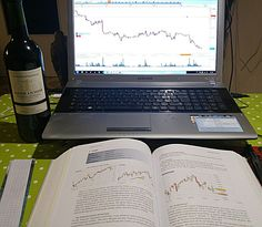 I don't need a girlfriend. Just me, a trading book, my trading station and a good bottle of red wine - cheers!✌        #old #bottle #book #red #wine #gf #girlfriend #daytrader #forex #trader #gamer #sugoi #sugoiwhat #fun #nerd #hardwork #dedication #study #creative