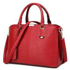 Stylish Zip and Stitching Design Women's Tote Bag