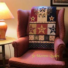 Liberty Star Sampler - Jo Morton Banner Day book