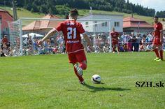 Tatar playing soccer.