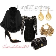 A fashion look from November 2013 featuring NLY Trend dresses, Harrods и Christian Louboutin pumps. Browse and shop related looks.