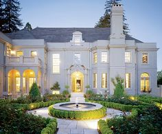 1922 French-style mansion renovated in Piedmont, CA.