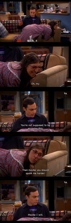 Oh, Amy! So clever! Hahahaha I love The Big Bang Theory!!