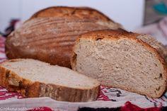 Paine cu maia naturala- fara drojdie / Simple sourdough breadCooking with my soul Sourdough Bread, Simple, Food, Yeast Bread, Essen, Meals, Yemek, Eten