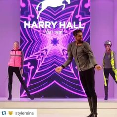 #Repost @stylereins with @repostapp. ・・・ @harry_hall_riding rocking the #equitheme #catwalk at #BETA2016 (sorry poor sound quality #mybad ) #stylereins #equestrianstyle #equestrianfashion #horseriding #rootd #horses #harryhall