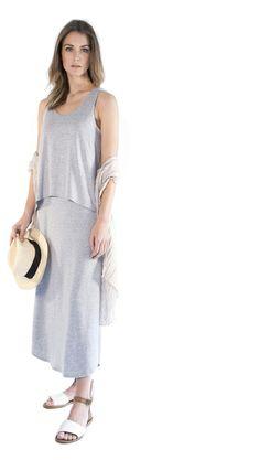 au lait | Premium Nursing Dresses | The X-Back Maxi Dress in Black | www.aulaitshop.com