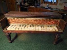 Antique Schoenhut Square Toy Piano - ebay