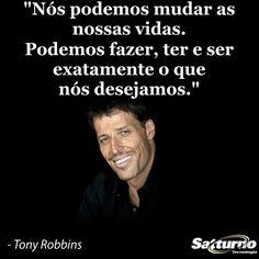 Podemos mudar as nossas vidas, sim! #satturno - http://www.satturno.com.br