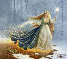Winter's Queen  Ruth Sanderson