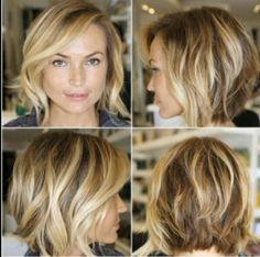 Ombre bob...but maybe a honey blonde, this night be a little too blonde for me!