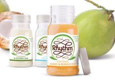 Coconut Kefir - Kefir is known as a fermented milk drink that's made with kefir grains—but Rhythm health's coconut kefir beverages are totally dairy-. Probiotic Brands, Kefir Culture, Low Carb Recipes, Vegan Recipes, Coconut Drinks, Coconut Water, Coconut Milk, Mango Fruit, Beverage Packaging