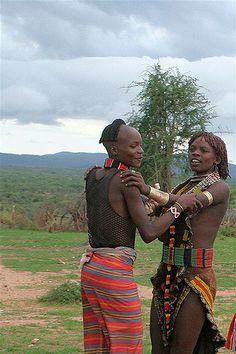 ETHIOPIA: Hamer | Gli Hamer e la danza Evangadi /Evangadi da… | Flickr