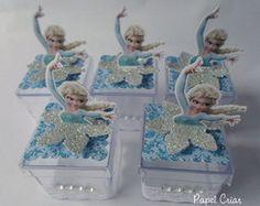 Caixinha de acrilico - Frozen