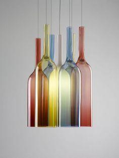 Jar in pendant lights