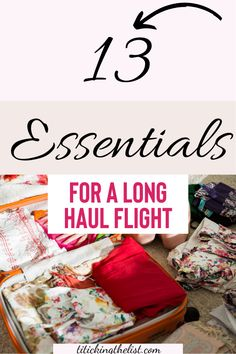 Let's be honest, long haul flights are NOT COMFORTABLE! But with these essentials, you'll be living the lap of luxury in economy class and you'll come off the flght feeling refreshed and comfortable.