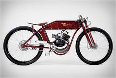 Bicicleta Motorizada de Sportsman Flyer
