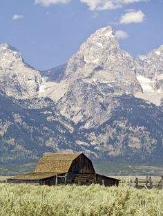 Jackson Hole Wyoming. Visited when I was around 9. They did not have to 'play' cowboy then!