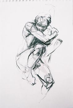 Jennifer Bush, houtskool - Tours,Trips,Home Decoration,Hairstyle Gesture Drawing, Anatomy Drawing, Drawing Poses, Life Drawing, Body Drawing, Figure Painting, Figure Drawing, Painting & Drawing, Body Sketches