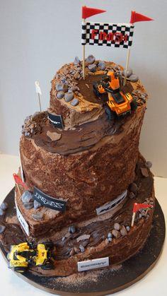Quading cake