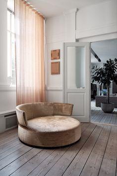 Malene Birger, Retail Design, New Furniture, Modern Interior Design, Scandinavian Design, Timeless Design, Chair Design, Floor Chair, Bean Bag Chair