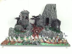 """The wrong way to home (""""protect the king"""") Castle Diorama by markus19840420 on Flickr"""