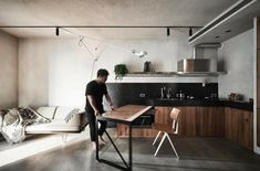 BlackMetal Apartment in Taipei / KC Design Studio