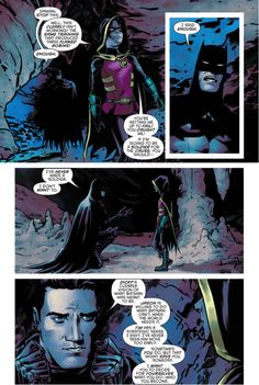 BATMAN'S ULTIMATE GOAL FOR THE ROBINS (Batman and Robin Eternal #22) Part 3