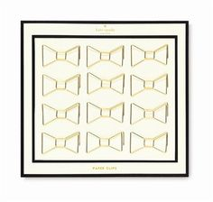 Kate Spade Bow Paper Clips – Paper Luxe