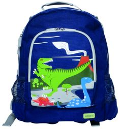 Bobble Art Dinosaur Canvas Backpack www.partytwinkle.com.au FREE delivery on minimum order
