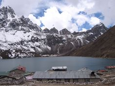 Too cold to swim, but what a view. Trekking to Mt. Everest, Gokyo, Nepal. http://www.amazon.com/India-Himalayas-Philanthropy-Trekking-ebook/dp/B005L3KP4W/ref=la_B004Q3D6B2_1_6?ie=UTF8=1346464348=1-6