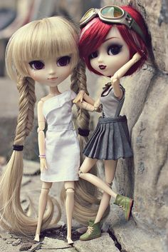 Ruby & Roa [Pullips Victorique & Batgirl] by snur., via Flickr
