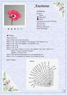 Альбом «The Book of Crochet Flowers». Обсуждение на LiveInternet - Российский Сервис Онлайн-Дневников