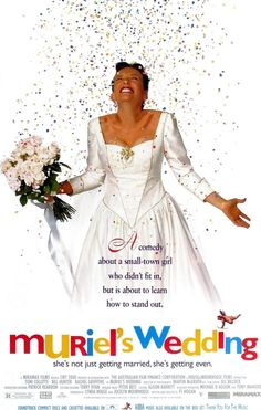 Muriel's Wedding is a 1994 Australian comedy-drama film written and directed by P. J. Hogan. The film, which stars actors Toni Collette, Rachel Griffiths, Jeanie Drynan, Sophie Lee, and Bill Hunter, focuses on the socially awkward Muriel whose ambition is to have a glamorous wedding and improve her personal life by moving from her dead-end home town, the fictional Porpoise Spit, to Sydney. The film received multiple award nominations, including a Golden Globe Award nomination for Best…