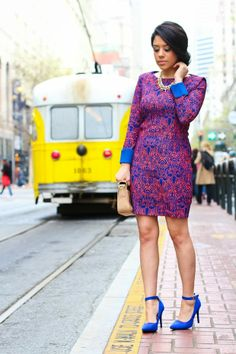 A Love Affair With Fashion : A Vibrant Color Combo in SF