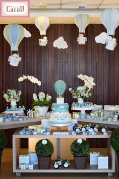 The world's catalog of creative ideas Baby Shower Cakes, Boy Baby Shower Themes, Baby Shower Balloons, Baby Shower Parties, Baby Boy Shower, Baby Shower Decorations, Baby Party, Baby Birthday, Holidays And Events