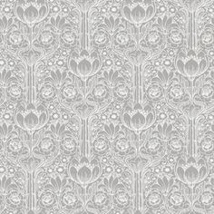 Brewster Wallcovering Wall Vision Ft Grey Non-Woven Damask Unpasted Paste The Wall Wallpaper Grey Wallpaper Samples, Embossed Wallpaper, Damask Wallpaper, Wallpaper Panels, Geometric Wallpaper, Print Wallpaper, Wallpaper Roll, Black And Grey Wallpaper, Wallpaper Patterns
