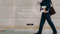Node WordPress theme is all you will ever need for a stunning and professional website for your digital or creative business. Product Branding, Professional Website, Creative Business, Wordpress Theme, Ecommerce, Conference, Web Design, Layout, Concept