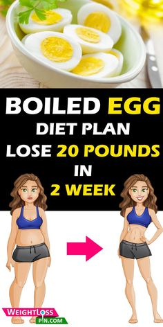 Lose 20 pounds in 2 weeks. The 2-week hard-boiled egg diet plan for fast weight loss. Best weight loss diet plan for women over 200 lbs. No Workout No Gym lose weight fast diet plan.