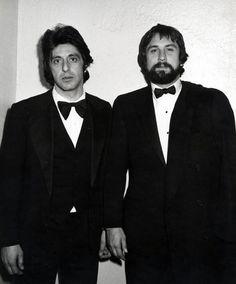 Ron Galella - охотник за знаменитостями   Аль  Пачино  и  Роберт  ДеНиро.