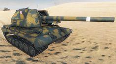 World of Tanks Bat-Chatillon 155 55   8.052 DMG - Sand River