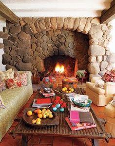 Kathy Ireland style - cozy!