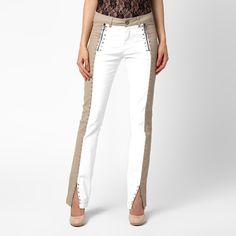 Calça BOBSTORE Resinada Bicolor c/ Aplicações | Zattini - A nova loja de moda…