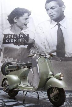 Vespa, made in Tuscany