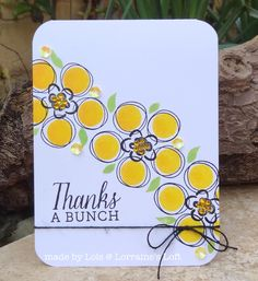 Hi all and hope you're having a lovely lazy Sunday :-)     I recently bought a fab Hero Arts Dauber Bunch Stamp Set and some new Ink Dauber...