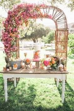 botanic wedding decoration